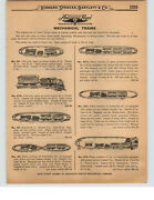 1927 Paper Ad 6 Pg American Flyer Mechanical Toy Train Cast Iron Hummer