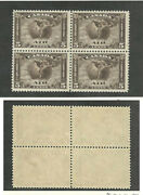 Canada Postage Stamp C2 Mint Nh Block 1930 Airmail