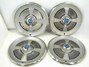 1965 Ford Hubcaps 15 Wheel Covers Galaxie