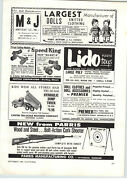 1960 Paper Ad Parris Toy Play Wood Steel Bolt Action Cork Shotting Rifle Gun