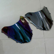 Double Bubble Front Windscreen Windshield Abs For Honda Cbr1000rr 2004-2007 2006