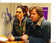 Emmy Rossum And William H Macy Shameless Signed At Counter 8x10