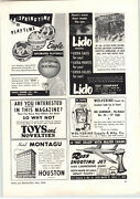 1956 Paper Ad Lido Toy Soldiers Schiaparelli Chi Chi Doll Robot Dog
