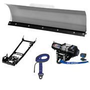 New Kfi 48 Pro-series Snow Plow System - 2012-2015 Can-am Outlander 800r Atv
