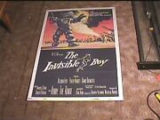 Invisible Boy 1957 Orig Movie Poster Robby The Robot Forbidden Planet