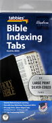 Bible Indexing Tabs New 84 Double Sided Large Print Silver New And Old Testament