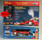 Lionel Mickey Mouse And Friends Express Lionchief Rc Train Set O Gauge 6-83979 New