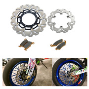 Drz400sm Brake Rotors And Pads Front And Rear Set For Suzuki Drz 400 Sm 2005-2020