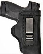 Pro Carry Lt Rh Lh Owb Iwb Leather Gun Holster For Walther Pk380 W Ct Laserguard