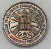 1913 - Church Of Ireland Silver Medal For Promoting Christian Knowledge Bu
