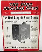 1937 1938 Ford Dealers News Mag Products Services Info Ads Car Truck Articles