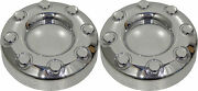 2 New 2008 Ford F350 Super Duty 2wd Front Closed Chrome Center Caps Hubcaps