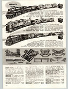 1959 Paper Ad 5 Pg Lionel Toy Electric Train Sets 027 Steam Freight Twin Diesel