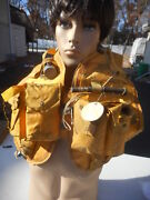 Us Navy Mk2 Life Preserver Mae-west Dated 1957 Mfg Us Rubber Co. Rare