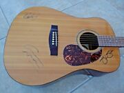Crosby Stills Nash Csn Signed Autographed Acoustic Guitar Bas Beckett Certified