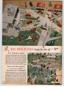 1961 Paper Ad Toy Play Battle Of Blue And Grey Civil War Soldiers Lincoln Grant
