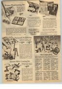 1963 Paper Ad Toy Metal Casting Molds Soldiers Cannon Civil War Wwii