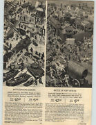 1966 Paper Ad Toy Battle Of Fort Apache Indians Cowboys Europe Soldiers Army