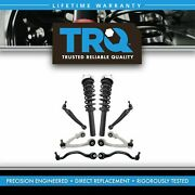 Trq 8 Pc Suspension Kit Complete Strut And Spring Assemblies W/ Control Arms New
