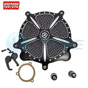 Air Cleaner Intake System For Harley Softail Road King Street Glide 2008-2016