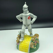 Wizard Of Oz Music Box Enesco Figurine Statue Porcelain If Tinman Only Had Heart