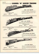 1955 Paper Ad 27 Pg Lionel Electric Train Sets Congressional Steam Diesel Penna