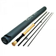 Echo Ion Xl 6100-4 10' Foot 6 Weight 4 Piece Fly Rod + Tube, Free U.s. Shipping
