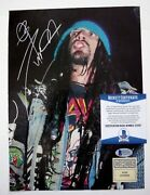 Rob Zombie Vintage Signed Autographed 8x11 Magazine Page Photo Bas Certified F1