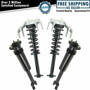 Front Rear Complete Quick Loaded Strut Spring Assembly Shock Absorber Kit 4pc