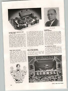 1938 Paper Ad Halsam American Logs Toy Article Lionel Train Set Window Display