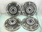 1965 Chevrolet Hubcaps 4 Wheel Covers 14 Chevy