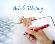 Seo Optimized Unique And Premium Article For Any Keyword 301-500 Words