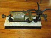 Antique Scale The Micrometer Dodge Scale Company 19001903 Great 20 Lb Pound Ny