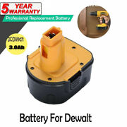 New 12v Volt Ni-mh Replacement Battery For Dewalt Dc9071 Dw9072 Cordless Drill