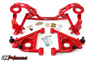 Umi Gm F-body Tubular K-member And A-arm Package Factory Springs Umi-240131 Red