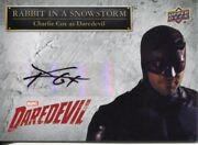 Daredevil Seasons 1 And 2 Autograph Card Ss-dd Charlie Cox As Daredevil