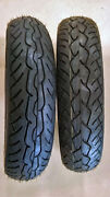 Pirelli Mt66 Front/rear Tire Set 130/90-16 Harley Touring Softail Indian Chief