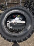 Two 18.4x38 12 Ply R 1 Tube Type Farm Tractor Tires Fit Ford Deere