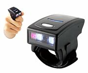 Arkscan As500 Bluetooth 4.1 Le Wireless Ring Mini Barcode Scanner 1d Reader For