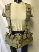 So Tech Medical Assault Chest Harness System Vest Only, Coyote Brown, Nwot