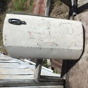 Triumph Spitfire Right Door 2 With Latch Late Style From A Florida Car White