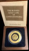 The Blessed Gold Coin Of Constantinople The Franklin Mint