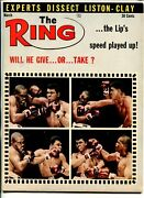 The Ring -03/1964-cassius Clay-sonny Liston-boxing-photos-info-fn