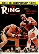 The Ring -08/1963-cassius Clay-sonny Liston-floyd Patterson-sugar Ray-vf