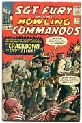 Sgt Fury And His Howling Commandos 11-1964-marvel-kirby Art-wwii-fn