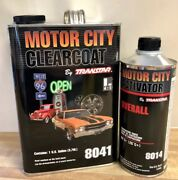 Motor City Clearcoat8041 With Activator8014 By Transtar