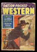 Action-packed West-pulp-1/1958-wild Bill Hickock-custer-good G