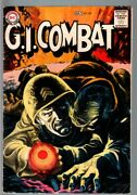 G.i Combat 82-really Cool Greytone Cover-dc War Silver Age Vg-
