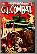 G.i Combat 85-really Cool Greytone Cover-dc War Silver Age Vg