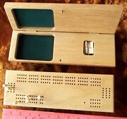 Lot Of 15 Wood Cribbage Boards 3 Tracks With Wood Pegs New